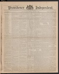 Providence Independent, V. 9, Thursday, August 9, 1883, [Whole Number: 425]