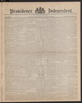 Providence Independent, V. 9, Thursday, August 23, 1883, [Whole Number: 427]