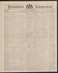 Providence Independent, V. 9, Thursday, September 20, 1883, [Whole Number: 431]