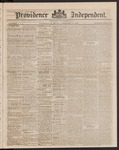 Providence Independent, V. 9, Thursday, September 27, 1883, [Whole Number: 432]