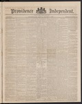 Providence Independent, V. 9, Thursday, October 4, 1883, [Whole Number: 433]