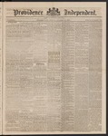 Providence Independent, V. 9, Thursday, October 18, 1883, [Whole Number: 435]