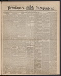 Providence Independent, V. 9, Thursday, October 25, 1883, [Whole Number: 436]
