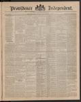 Providence Independent, V. 9, Thursday, November 1, 1883, [Whole Number: 437]