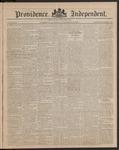 Providence Independent, V. 9, Thursday, November 29, 1883, [Whole Number: 441]