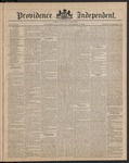 Providence Independent, V. 9, Thursday, December 6, 1883, [Whole Number: 442]