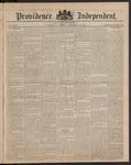 Providence Independent, V. 9, Thursday, December 13, 1883, [Whole Number: 443]