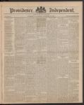 Providence Independent, V. 9, Thursday, December 20, 1883, [Whole Number: 444]