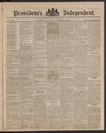 Providence Independent, V. 9, Thursday, December 27, 1883, [Whole Number: 445]