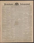 Providence Independent, V. 9, Thursday, January 10, 1884, [Whole Number: 447]