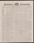 Providence Independent, V. 9, Thursday, February 7, 1884, [Whole Number: 451]