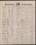 Providence Independent, V. 9, Thursday, February 21, 1884, [Whole Number: 453]