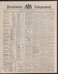 Providence Independent, V. 9, Thursday, February 28, 1884, [Whole Number: 454]