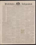Providence Independent, V. 9, Thursday, March 6, 1884, [Whole Number: 455]