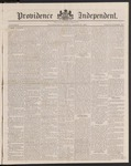 Providence Independent, V. 9, Thursday, March 20, 1884, [Whole Number: 457]