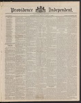 Providence Independent, V. 9, Thursday, April 10, 1884, [Whole Number: 460]