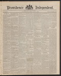 Providence Independent, V. 9, Thursday, May 1, 1884, [Whole Number: 463]