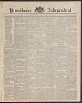 Providence Independent, V. 9, Thursday, May 8, 1884, [Whole Number: 464]