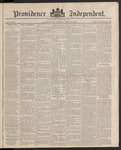 Providence Independent, V. 10, Thursday, June 19, 1884, [Whole Number: 470]