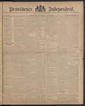 Providence Independent, V. 10, Thursday, July 24, 1884, [Whole Number: 475]