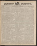 Providence Independent, V. 10, Thursday, August 28, 1884, [Whole Number: 480]