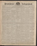 Providence Independent, V. 10, Thursday, September 18, 1884, [Whole Number: 483]