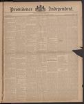 Providence Independent, V. 10, Thursday, October 2, 1884, [Whole Number: 485]