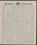 Providence Independent, V. 10, Thursday, November 6, 1884, [Whole Number: 490]