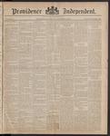 Providence Independent, V. 10, Thursday, December 4, 1884, [Whole Number: 494]