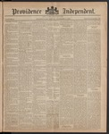 Providence Independent, V. 10, Thursday, December 11, 1884, [Whole Number: 495]