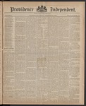 Providence Independent, V. 10, Thursday, December 25, 1884, [Whole Number: 497]