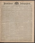 Providence Independent, V. 10, Thursday, January 8, 1885, [Whole Number: 499]