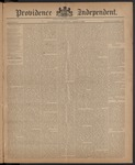 Providence Independent, V. 10, Thursday, April 9, 1885, [Whole Number: 512]
