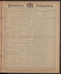 Providence Independent, V. 10, Thursday, April 16, 1885, [Whole Number: 513]