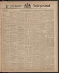 Providence Independent, V. 11, Thursday, July 23, 1885, [Whole Number: 527]