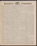 Providence Independent, V. 11, Thursday, September 24, 1885, [Whole Number: 536]