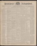 Providence Independent, V. 11, Thursday, October 29, 1885, [Whole Number: 541]