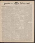 Providence Independent, V. 11, Thursday, November 12, 1885, [Whole Number: 543]