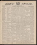 Providence Independent, V. 11, Thursday, November 26, 1885, [Whole Number: 545]