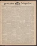 Providence Independent, V. 11, Thursday, December 24, 1885, [Whole Number: 548]