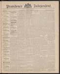 Providence Independent, V. 11, Thursday, February 25, 1886, [Whole Number: 557]