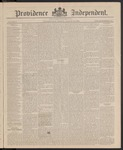 Providence Independent, V. 11, Thursday, March 25, 1886, [Whole Number: 561]