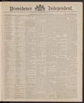 Providence Independent, V. 11, Thursday, April 22, 1886, [Whole Number: 565]
