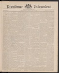 Providence Independent, V. 11, Thursday, May 27, 1886, [Whole Number: 570] by Providence Independent