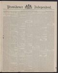 Providence Independent, V. 12, Thursday, July 15, 1886, [Whole Number: 578]