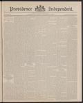 Providence Independent, V. 12, Thursday, September 2, 1886, [Whole Number: 585]