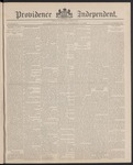 Providence Independent, V. 12, Thursday, September 16, 1886, [Whole Number: 587]