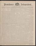 Providence Independent, V. 12, Thursday, September 23, 1886, [Whole Number: 588]