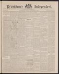 Providence Independent, V. 12, Thursday, September 30, 1886, [Whole Number: 589] by Providence Independent