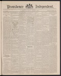 Providence Independent, V. 12, Thursday, October 7, 1886, [Whole Number: 590] by Providence Independent